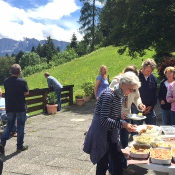 Jahrestraining Abschlussfahrt Oberbayern,  © Naráyani A. Aspa