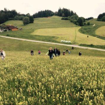 Wanderung Abschluss-Retreat Oberbayern, © Naráyani A. Aspa